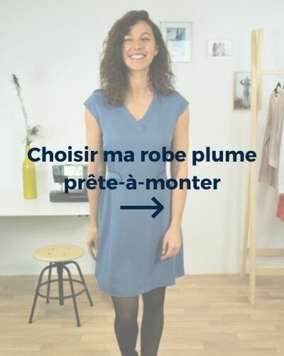 robe plume kit couture